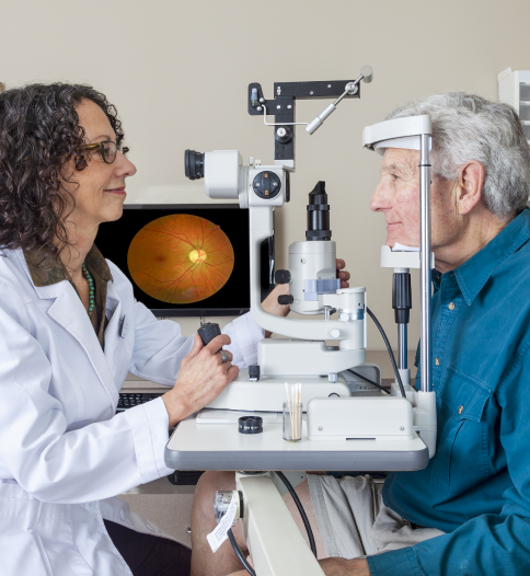 BBGR examen de vue dépistage maladie de l'œil DMLA