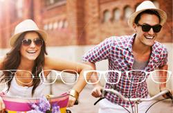 Les verres optiques NeoSun de BBGR Optique sont des verres solaires de prescription, unifocaux ou progressifs, qui s'adaptent à tous les styles de montures, même les plus cambrées