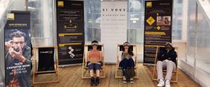 Nikon Verres Optiques offre un instant de détente aux vacanciers