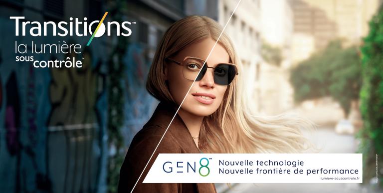 Découvrez les nouveaux verres Transitions™ Signature® GEN8™