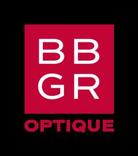 BBGR, fabricant français de verres optiques. Logo de la marque BBGR Optique.
